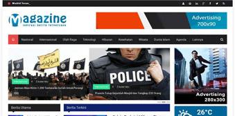 SwaraKalibata - Template Website Portal Berita Magazine Responsive