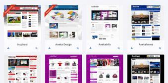Kumpulan Template Website Menggunakan Php dan MySql Murah...Maauu???