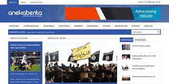 Swarakalibata V.2 Template Website Portal Berita AnekaBerita Responsive Menggunakan Php dan MySql