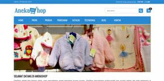 Template Website Toko Online AnekaShop V.1 Member Responsive