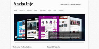 Template Website Company Profile