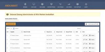 Aplikasi POS (Point of Sale ) Kasir Toko pada Minimarket Berbasis Web dengan PHP dan Mysql
