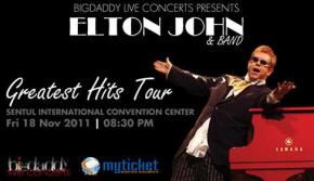 Elton John Greatest Hits Tour